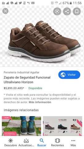 Vendo calzado de seguridad funcional en nuevo caja