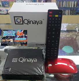 TVBOX + DECODIFICADOR TDT