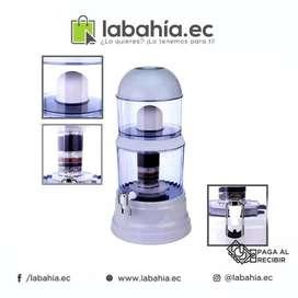 Purificador dispensador agua, filtrado 3 etapas O