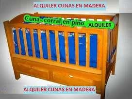 Ahorra tiempo y dinero Alquiler Cunas en madera para 319 - 2135600