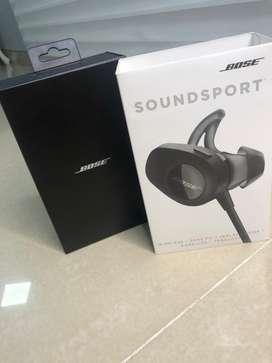 Bose Soundsport Wireless (Un año de uso) Accesorios Originales