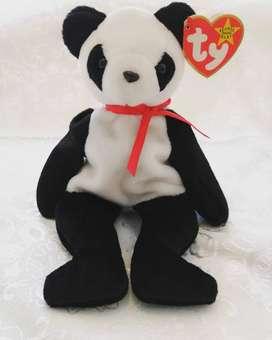 TY Beanie Babies - Fortune el oso panda