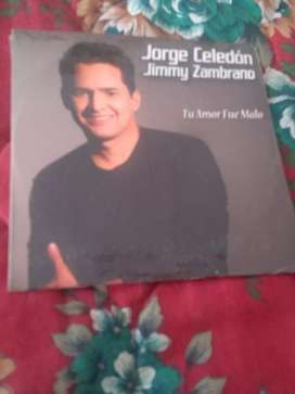 Cd original de Jorge Celedón y Jimmy zambrano
