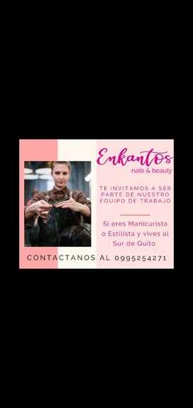 Se necesita estilista sur de Quito
