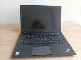 Vendo Lenovo Thinkpad T460s core i7 Nvidia GeForce 930 garantía lenovo