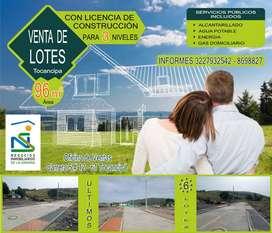 Lote en Tocancipa, 96 m2, *ÚLTIMOS 6 LOTES*