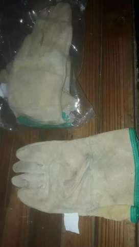 Discos de cortes, electrodos y guantes