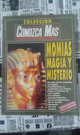 Revista Conozca Mas Colección Año 1993 Momias Magia Y Misterio