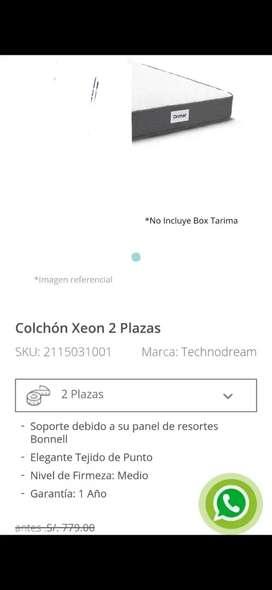 Colchón 2 pz DRIMER nuevo 620 negociable