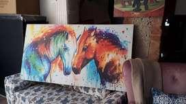 Hermoso cuadro en Lienzo 150x80cm