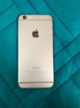 Iphone 6 sin huella de 16 gb, todo en buen estado, economico