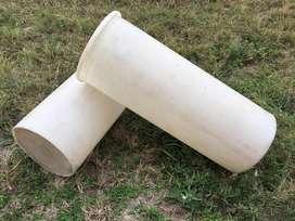 Tachos plasticos - 600 unidades