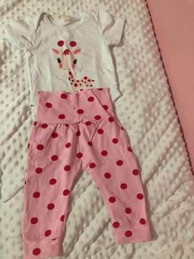 Ropa marca carters y baby frehs