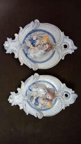 Apliques en porcelana