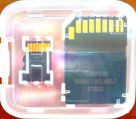 Vendo Memorias MicroSD 32Gb marca Kingston