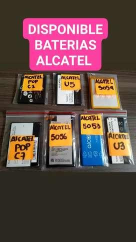 VENDO BATERIAS DE ALCATEL