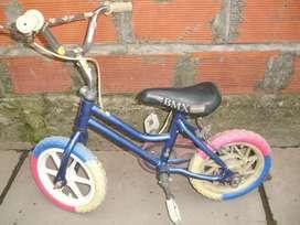 Bicicleta BMX rodado 12