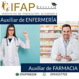 Auxiliar de Farmacia con Aval Universita