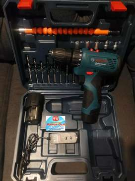 Taladro atornillador inalambrico bosh está oferta kit herramientas