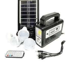 Kit solar con radio