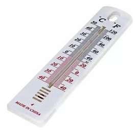 Termometro Ambiente Interior Exterior Alcohol 19cm Sumerg