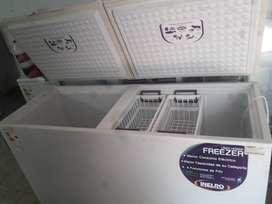 Freezer inelro 520lts SEMINUEVO pozo de frio exhibidor congelador frare gafa briket OPORTUNIDAD