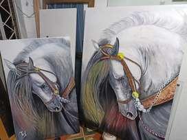 Obra de caballo al realismo