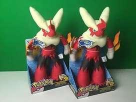 Pokemon Mega Blaziken Peluche Sonido Original OFERTA
