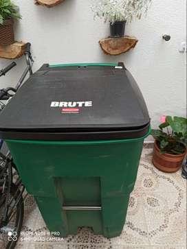 Carro recolector de basura de 360 Lts