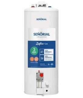 TERMOTANQUE SEÑORIAL 85LT A GAS !