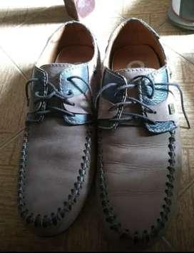 Zapatos Snowfall cuero talla 38
