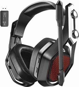 Auriculares, Diadema Gamer Inalámbricos Mpow Iron Pro