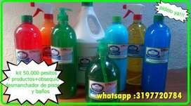 Productos de aseo... Promoción KIT 8 productos