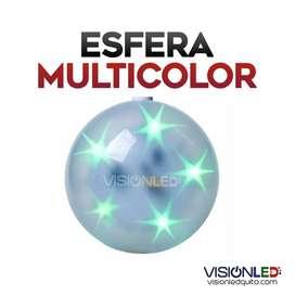 Esfera Estrella MULTICOLOR LED luz de colores