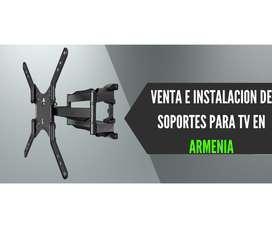 INSTALACIÓN DE TV VENTA DE SOPORTES EN ARMENIA