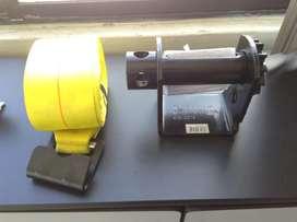 Faja de carga con rachet soldable de acero Multiprens