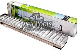 Luz Emergencia 60 Leds Slot Recargable Con USB