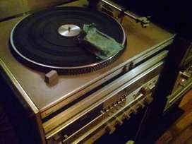 Equipo de audio Philips completo vintaje