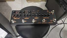 Pedal Nux Cerberus Multifunción Para Guitarra Eléctrica.