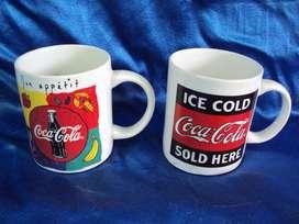 tazas mug colección coca cola gibson 1997