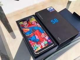 SAMSUNG GALAXY S8 (fisurado) 4GB DE RAM 64GB DE ALMACENAMIENTO. TOTALMENTE FUNCIONAL