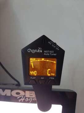 Afinador Para Guitarra Bajo Ukelele Vientos Cherub Wst-523