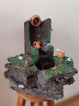 Fuente de Agua Electrica - Decorativa