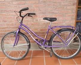Bicicleta dama - Rodado 24