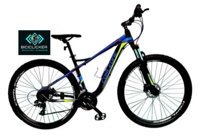Bicicleta CORLEONE Rin 29 grupo shimano, frenos de disco hidráulicos, Modelo 2021 diferentes colores.