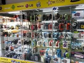 Se buscan vendedores con experiencia  en venta de accesorios celulare