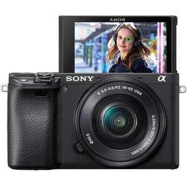 Cámara Fotográfica Sony a6400 lente 16 50mm