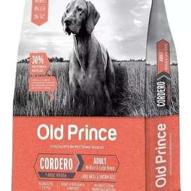 Old Prince adulto cordero y arroz x 15 kgrs
