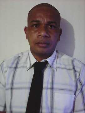 busco empleo como guardia de seguridad  con trasporte propio