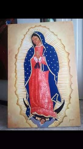 Hoy aprovecha exclusiva de GRIMALDO certificada virgen de Guadalupe de 130mtrs alto